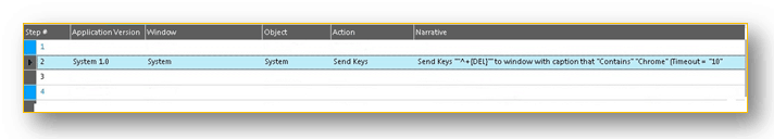 How to use Send Keys with Worksoft Certify HTML Interface