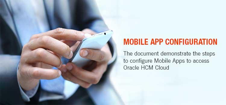 Mobile App configuration