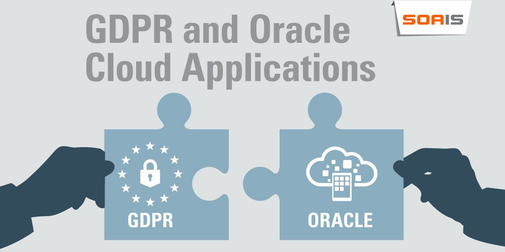 GDPR and Oracle Cloud Applications