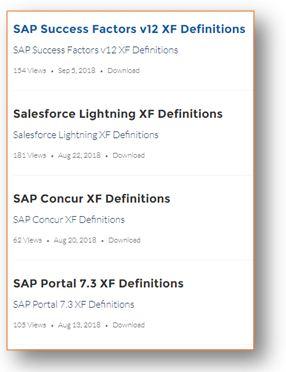 configuration XML files