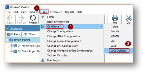 How to import XF definitions into Certify