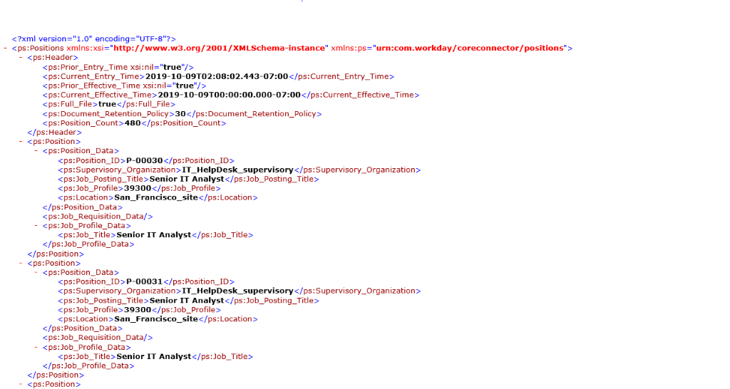 Download xml file