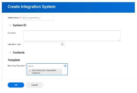 create integration system