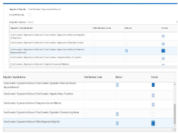 integration template service