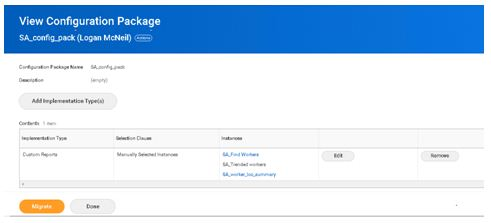 View Configuration Package 2