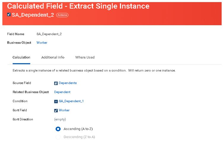 Extract single instance