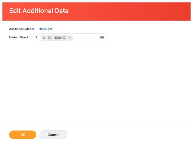 Edit additional data