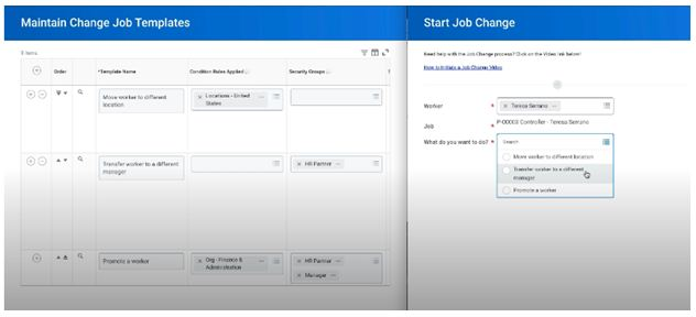 start job change