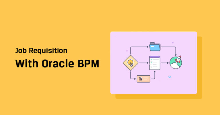 Job Requisition Approval Workflow in Oracle BPM (Business Process Management)