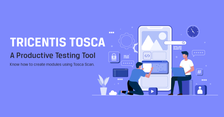 Scanning Web Application Using Tosca Scan