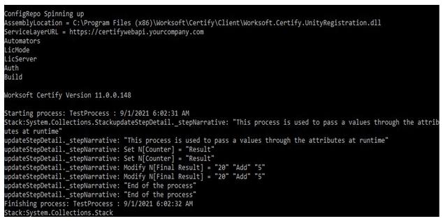 Worksoft certify version